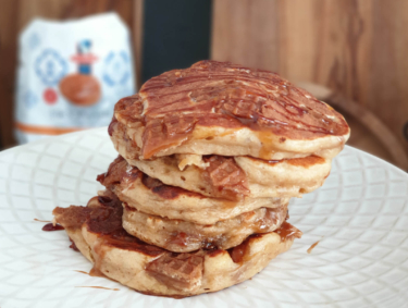 Recipe for Stroopwafel pancakes