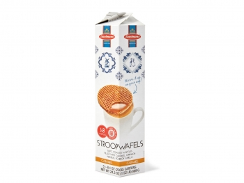 Caramel Stroopwafels in Hexa-tower