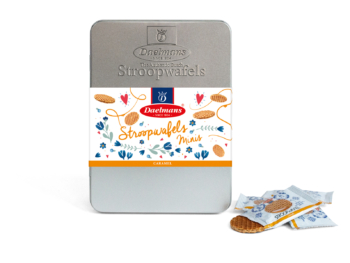 Stroopwafel Mother's Day gift tin