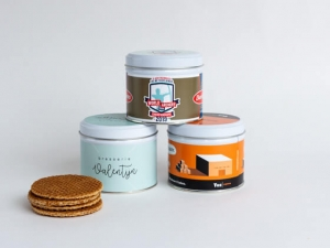 Custom Stroopwafel tin