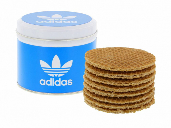 Personalized lid with stroopwafels