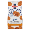 Mini caramel stroopwafels in cello bag