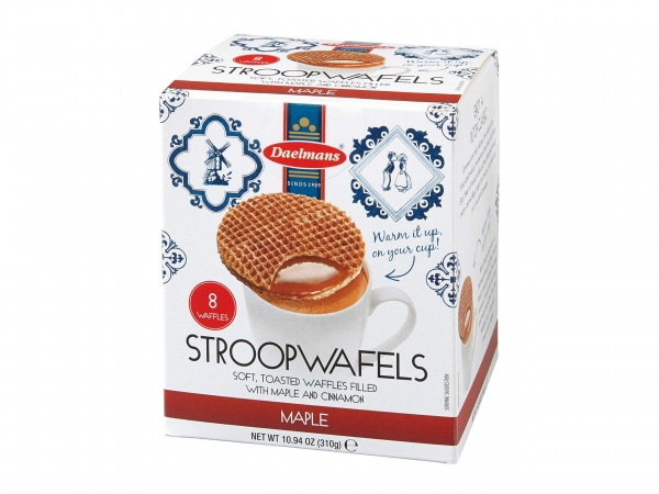 Daelmans Maple Stroopwafels Cube Box