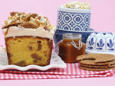 Recipe for Stroopwafel cake
