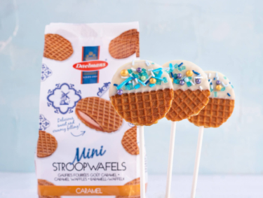 Recipe for Stroopwafel lollipops