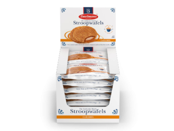 Daelmans Stroopwafels original caramel duo packs