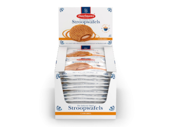 Daelmans Stroopwafels original caramel single packs