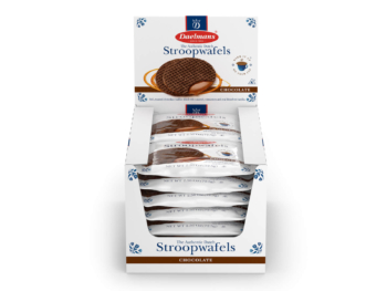 Daelmans Stroopwafels chocolate duo packs
